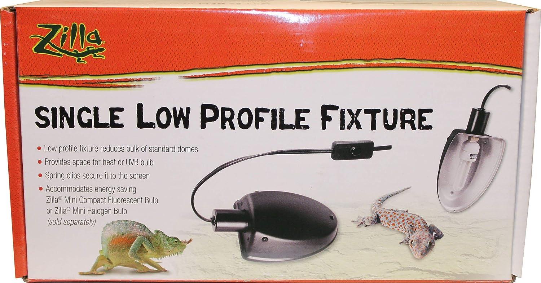 Zilla Dual Low Profile Reptile Terrarium Fixture