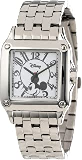 Disney Women's W000469 Mickey Mouse Perfect Square Bracelet Watch