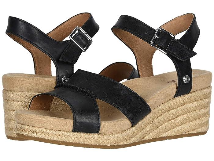 UGG  Berryessa (Black) Womens Shoes