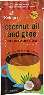 Kelapo Coconut Oil and Ghee 50/50 Blend Packets, 5 Pack