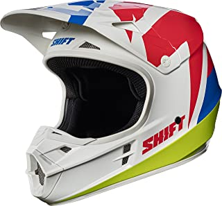 2017 Shift White Label Tarmac Helmet-White-S