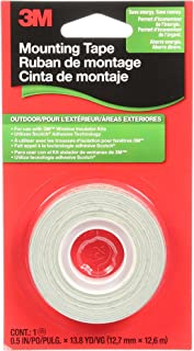 3M Outdoor Insulator Film Mounting Tape, .5-Inch by 13.8-Yard
