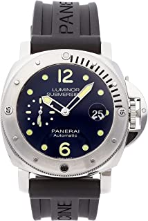 Luminor Mechanical (Automatic) Blue Dial Mens Watch PAM 731 (Certified Pre-Owned)