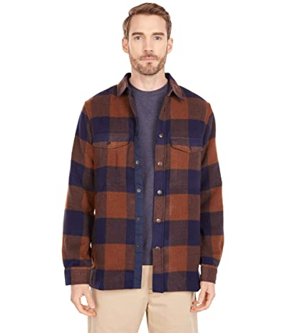 Fjallraven Canada Shirt (Chestnut/Dark Navy) Men