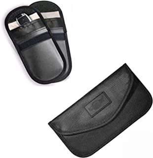 MONOJOY Faraday Pouch for Car Key Fob & Large Faraday Bag for Cell Phone