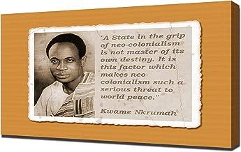 Kwame Nkrumah Quotes 3 - Canvas Art Print