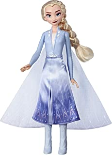Disney Frozen Elsa Magical Swirling Adventure Fashion Doll That Lights Up, Inspired by The Frozen 2 Movie - Toy for Kids 3 Years Old & Up