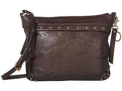 FRYE AND CO. Odessa Crossbody (Dark Brown) Cross Body Handbags