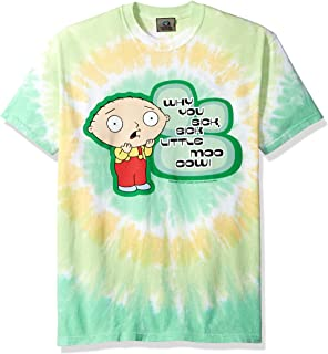 Liquid Blue Family Guy Sick Little Moo Cow Tie Dye Short Sleeve T-Shirt