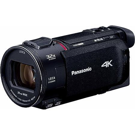パナソニック 4K ビデオカメラ WZXF1M 64GB ワイプ撮り あとから補正 ブラック HC-WZXF1M-K