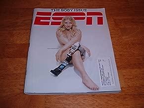 ESPN magazine, October 19, 2009-Sarah Reinertsen-The Body Issue-Sarah Reinertsen, the first femal leg amputee to complete the Ironman Triathlon World Championship in Kona, Hawaii on cover.