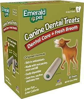 Emerald Pet Smart N' Tasty 32-Ounce Fresh Breath Dental Treats, Large
