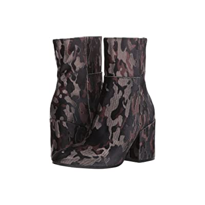 Summit by White Mountain Shaw (Black Camo Suede) Women