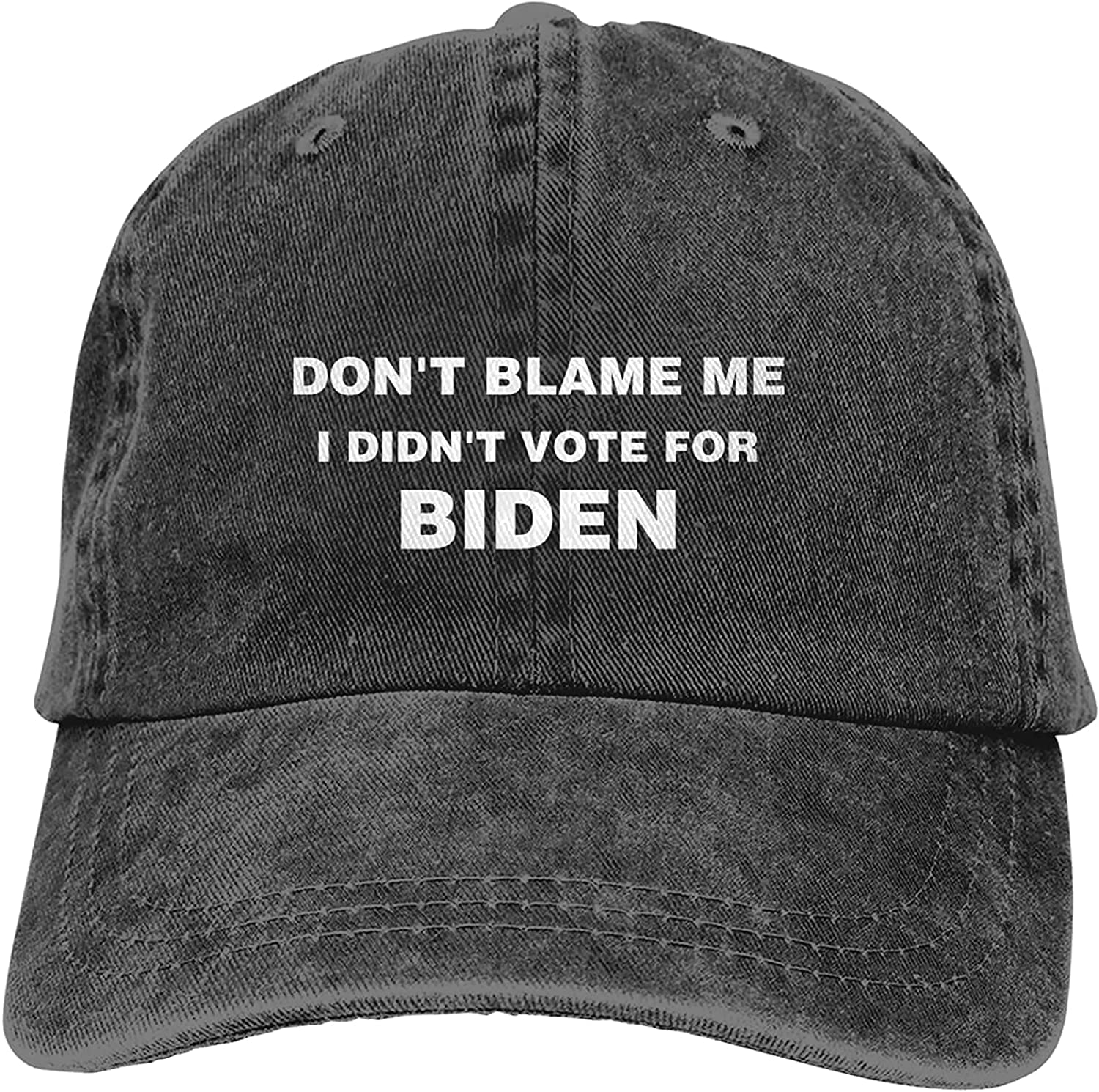 BANYCUND Regular discount Don't Blame Me I Didn't Unisex New product! New type Baseball Biden Vote for