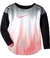 Nike Kids Gradient Morph Dri-FIT Long Sleeve Tee (Little Kids)