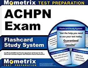 ACHPN Exam Flashcard Study System: Unofficial ACHPN Test Practice Questions & Review for the Advanced Certified Hospice and Palliative Nurse Examination (Cards)