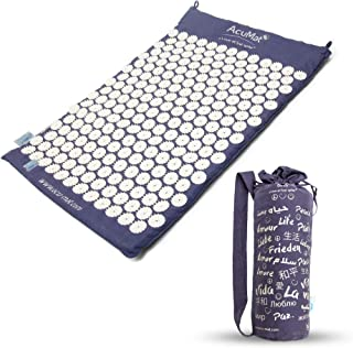 AcuMat Body - Advanced AcuPressure Mat - Relieves Back/Neck Pain - Muscle Relaxation Therapy