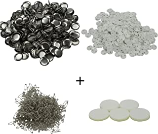 25mm~75mm 1 Inch~3 Inch Button Parts for Badge & Button Making Machine DAWEI 1001 Parts Supply 500 Sets (φ25mm 1 Inch)