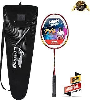 Li-Ning XP 900-JR Blend PV Sindhu Junior Signature Series Isometric Strung Badminton Racquet (Red/Orange) with Free Soft Case