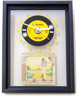 elton john farewell yellow brick road poster