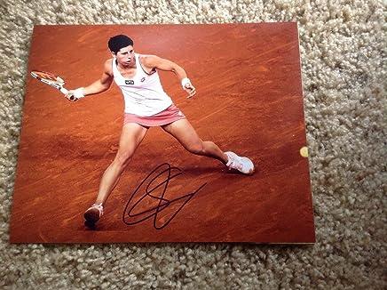 Carla Suarez Navarro Signed 8x10 Photo Autographed Auto Spain c - Autographed Tennis Photos