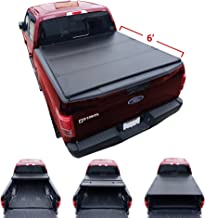 Excl. 2019 Classic Models Galaxy Auto Soft Tri-Fold for 2019-20 Dodge Ram 1500 6.4 Bed Black Trifold Truck Bed Tonneau Cover