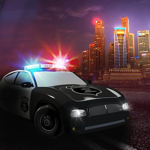 la police terme de vitesse poursuite en voiture: le flic 911 appel d'urgence - édition gratuite
