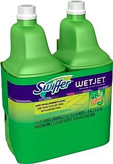 Swiffer Wet Jet Spray Mop Floor Cleaner Multi-Purpose Solution - Gain Original - 42.2 oz - 2 pk