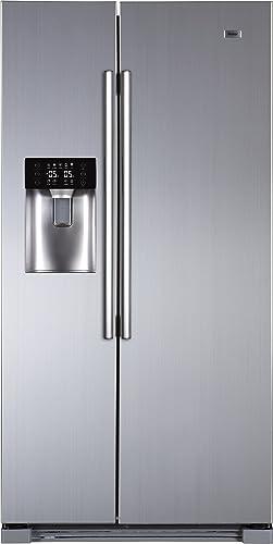 Haier HRF-628IF6 Side-by-Side/A+ / 179 cm de hauteur / 420 kWh/an/réfrigérateur 375 L/partie congélateur 175 L/eau, d...