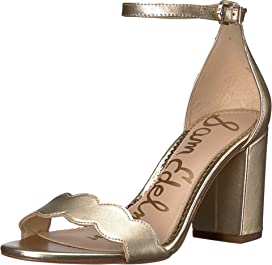 0beeb52fc69c Sam Edelman Yaro Ankle Strap Sandal Heel at Zappos.com