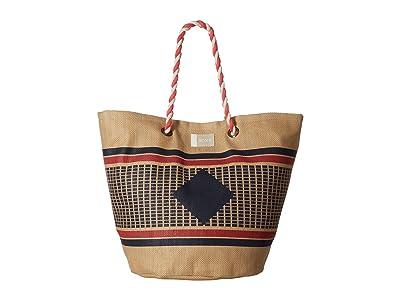 Roxy Sunseeker Beach Bag (Natural) Tote Handbags