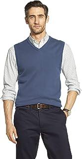 IZOD Men's Premium Essentials Solid V-Neck 12 Gauge Sweater Vest
