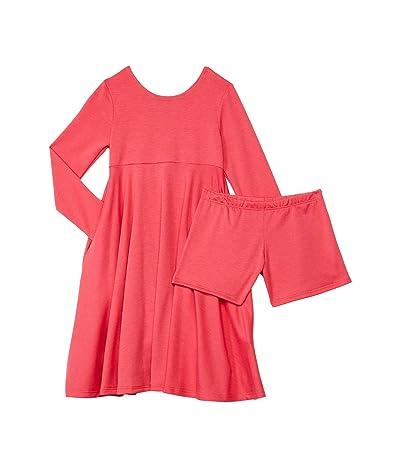 fiveloaves twofish Emma Dress (Little Kids/Big Kids) (Coral) Girl
