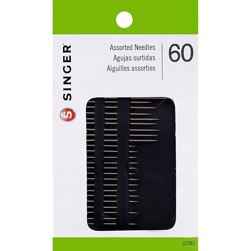 SINGER Assorted Hand Needles, 60 Count