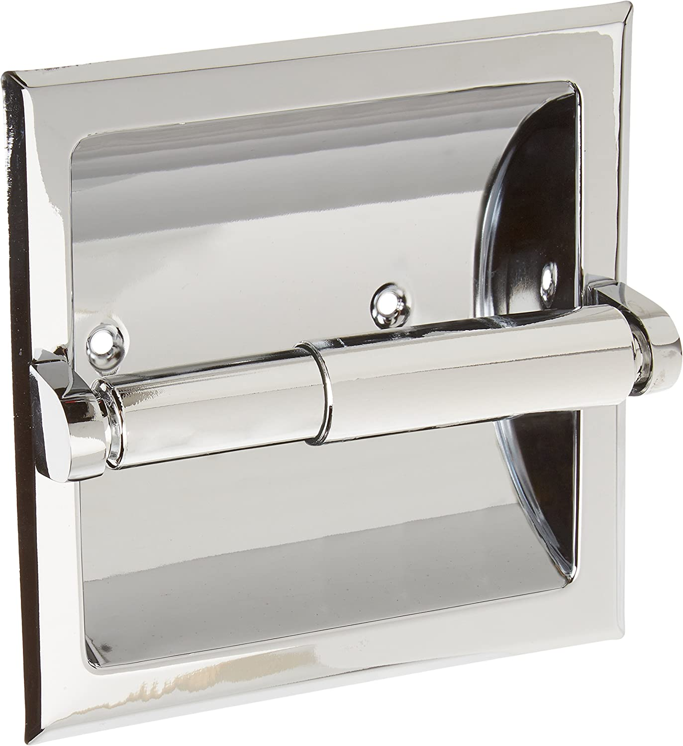 Moen 575 Donner Collection Recessed Paper Holder Chrome Toilet Paper Holders Amazon Com