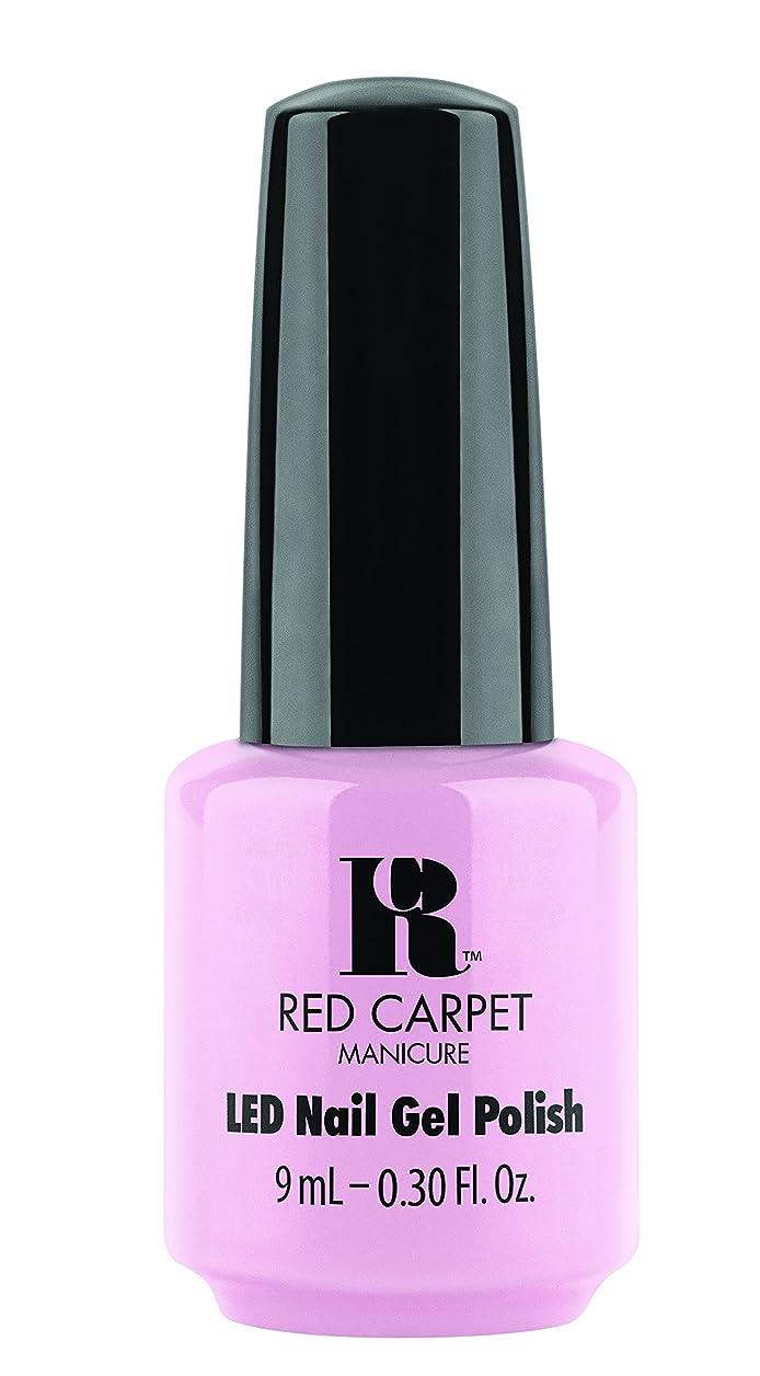 卒業ペデスタルドナーRed Carpet Manicure Gel Polish, Simply Adorable, 0.3 Fluid Ounce by Red Carpet