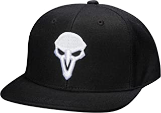 Overwatch Reaper: Back from The Grave Snapback Baseball Hat, Black, One Size