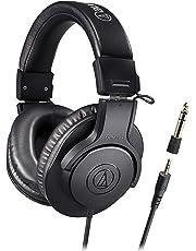 【Amazon.co.jp限定】audio-technica オーディオテクニカ プロフェッショナル モニターヘッドホン ATH-M20x/1.6 ケーブル長1.6m スタジオレコーディング/楽器練習/ミキシング/DJ/ゲーム