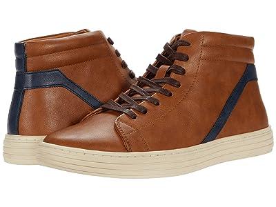 Steve Madden Halbert Sneaker (Tan/Navy) Men