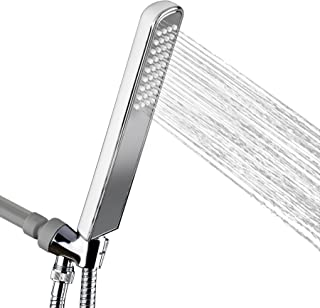 AKDY 1.5 Inch Singlel Spray ABS Chrome Handheld Shower Head