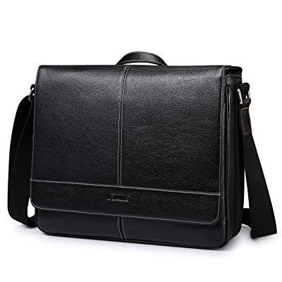14 Inch Laptop Briefcase S-ZONE Mens Messenger ...