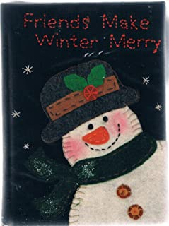 Snowman Journal- Friends Make Winter Merry