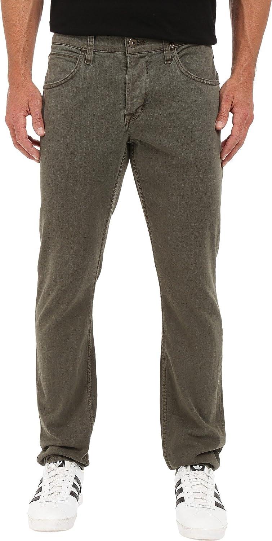 Hudson Jeans Men's Blake Slim 返品交換不可 Straight Twill Leg 38 ファクトリーアウトレット Pant Ares