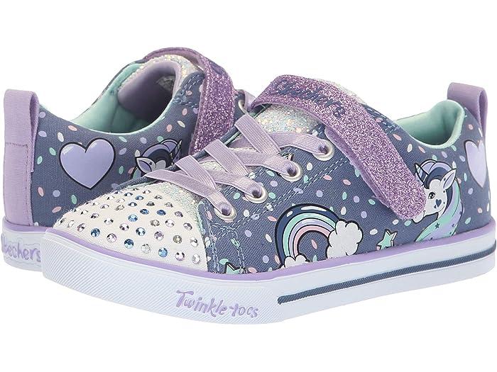 vaso Mansión Gracia  SKECHERS KIDS Twinkle Toes - Sparkle Lite 10988L Lights (Little Kid/Big  Kid) | Zappos.com