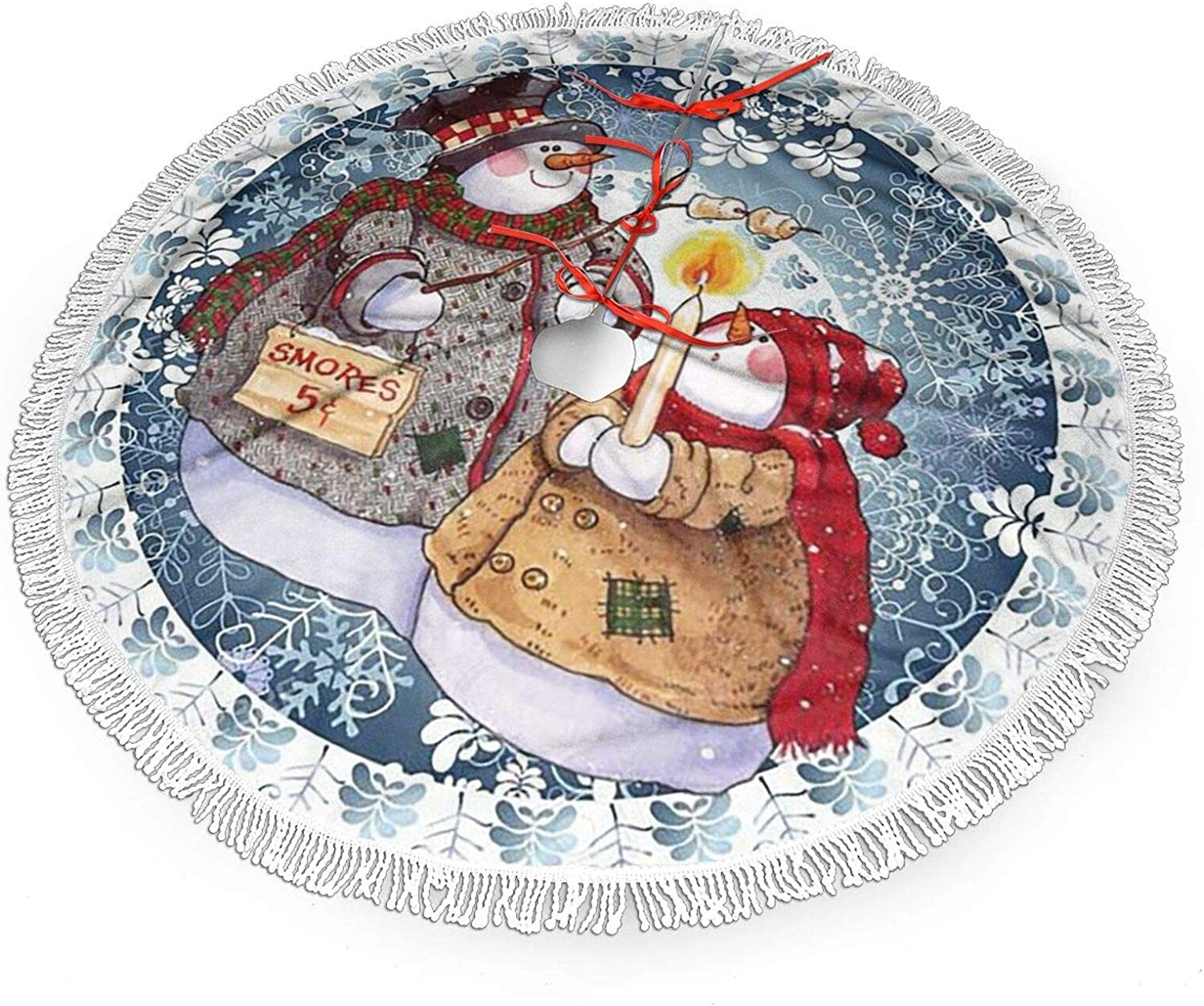 Christmas Tree Skirts Party Decorations Festival half Supplies T Xmas Clearance SALE! Limited time!