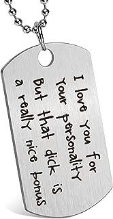 Boyfriend Gift Idea Funny Keychain for Husband Valentine's Day Anniversary