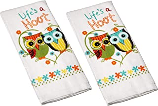Kay Dee Designs Cotton Terry Towel, 16 by 26-Inch, Life's A Hoot (2)