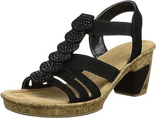 8583514d654e0 Amazon.co.uk: Rieker - Sandals / Women's Shoes: Shoes & Bags