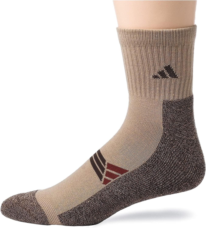 adidas Men's Climalite X Quarter Sock, 2-Pack