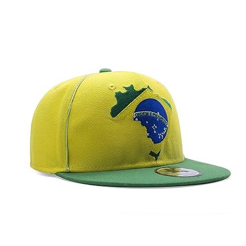 Bandana Brazil 55cm Bandana Hats Caps /& Headwear for Fancy Dress Costumes  Accessory